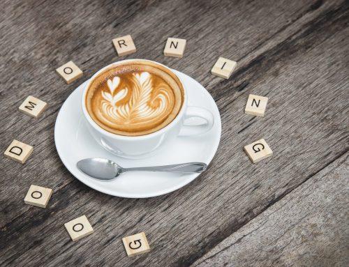 Kávérajz készítése