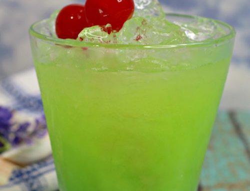Green Iguana koktél recept